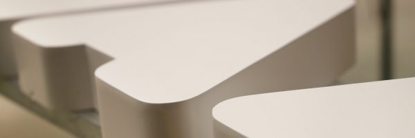 Letras Corpóreas Aluminio - Pintadas