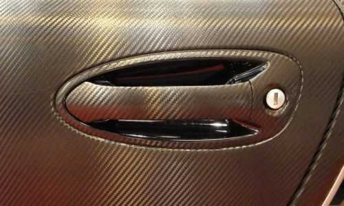 Rotulación Integal de Vehículos - Detalle maneta puerta