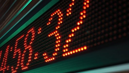Reloj digital led